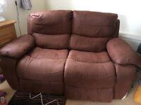 FREE Leather 2 seater sofa