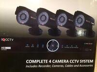 CCTV 4 CAMERA HD SYSTEM