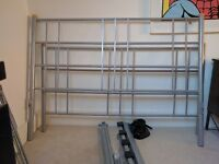 Double Metal Bed Frame - Fair Condition - All slats included