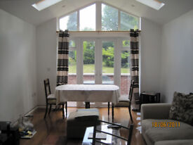 Spacious modern furnished 2 bedroom flat