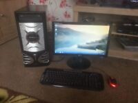 for sale full computer set up ie/ core 13 /1tb of hard drive /4gb of ram £70