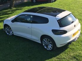 Volkswagen Scirocco 2.0 TDI CR GT - Pano Sunroof, Heated Leather, Sensors, 1 Owner, FSH