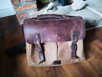 Satchel laptop bag