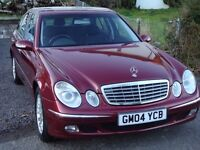 mercedes e320 cdi one owner from new