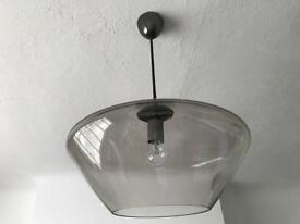 John Lewis glass pendant ceiling light