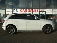 DIESEL AUTO !!! 2016 03 AUDI Q5 2.0 TDI QUATTRO S LINE PLUS 5D AUTO 187 BHP ** GUARANTEED FINANCE **
