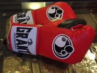 Brand New Grant Boxing Gloves 12 Oz Red Fighting / Training Gloves