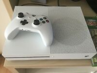 Xbox one S console with 6 games £190ono