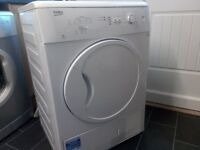 New Beko Condensor Tumble Dryer 7kg. Only 3 weeks old, used once. Will consider offers.