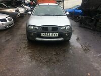 2003 Rover Streetwise s 103 PS 5dr Hatchback 1.4L Petrol Silver BREAKING FOR SPARES