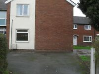 Proffesionals and families welcome. Spacious 3 bedroom flat in Upton Chester