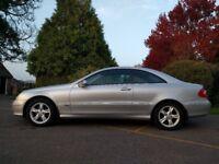Mercedes Benz CLK200 Kompressor Avantgarde | 2005 (55) | Automatic | Petrol 1.8 | 70k Miles