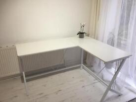 Corner desk -white, very good quality and condition