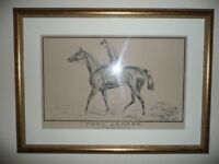 Horse racing picture