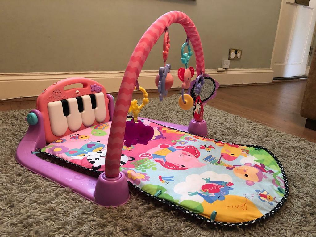 Fisher Price Kick And Play Piano Gym Pink In Bournemouth Dorset
