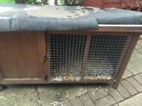 Rabbit/ guinea pig hutch