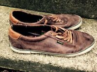 Men's Barbour brown shoes