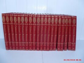 CHILDRENS ENCYCLOPEDIA BRITANNICA, 20 VOLUME SET, IN EXCELLENT CONDITION, RARE, COLLECTABLE