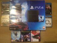 PS4 Slim 500gb incl 7 games - £200