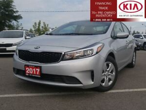 2017 Kia Forte LX |WARRANTY|AUTOMATIC|PWR OPTIONS|BLUETOOTH|