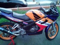 CBR125 RS6 with stands