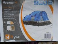 Hi Gear Voyager 4 Tent. Used Twice. Very Nice Tent. Easy To Put Together