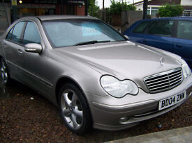 IMMACULATE LOW MILAGE 58K MERCEDES AVANTGARDE C CLASS AUTOMATIC NEW MOT FSH 2 KEYS ONLY £2995