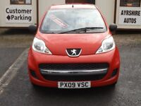 09/09 Peugeot 107 1.0 Urban Lite 3dr, Red.**£20 Road Tax, Timing Chain Driven, MOT May 2019**