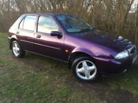 FORD FIESTA 1.4 LITRE - LONG MOT - RELIABLE - LOVELY