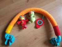 Pram pushchair toy arch