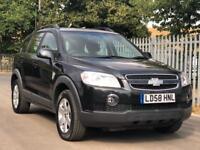 Chevrolet Captiva 7 seater auto diesel black