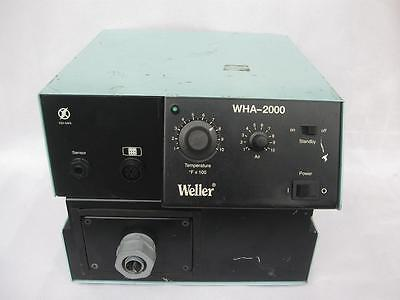 1pc Used Work Weller Wha-2000 Hot Air Desoldering Station