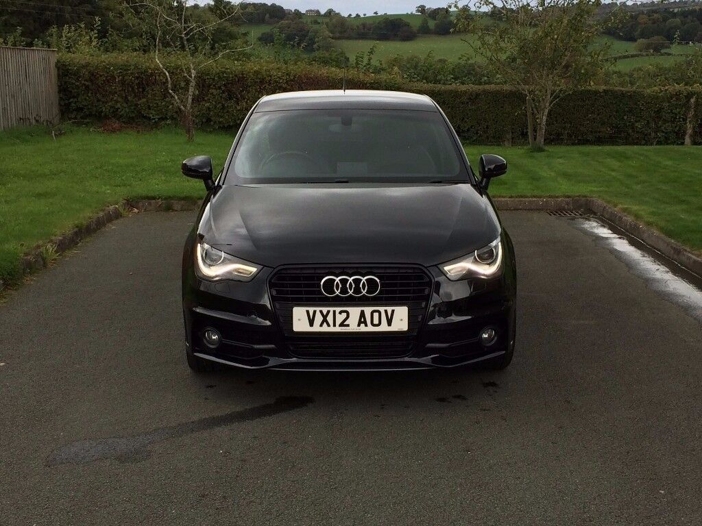 2012 audi a1 2 0 tdi s line black edition 3dr 143 bhp in welshpool powys gumtree. Black Bedroom Furniture Sets. Home Design Ideas