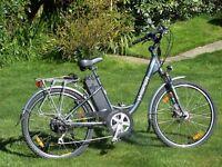 Wisper Step Through Electric Bicycle
