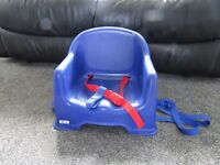 table booster chair