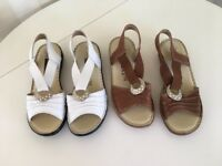 Bundles of shoes size 6 and a half and size 7