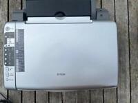 Epson Stylus DX5000 printer with inks