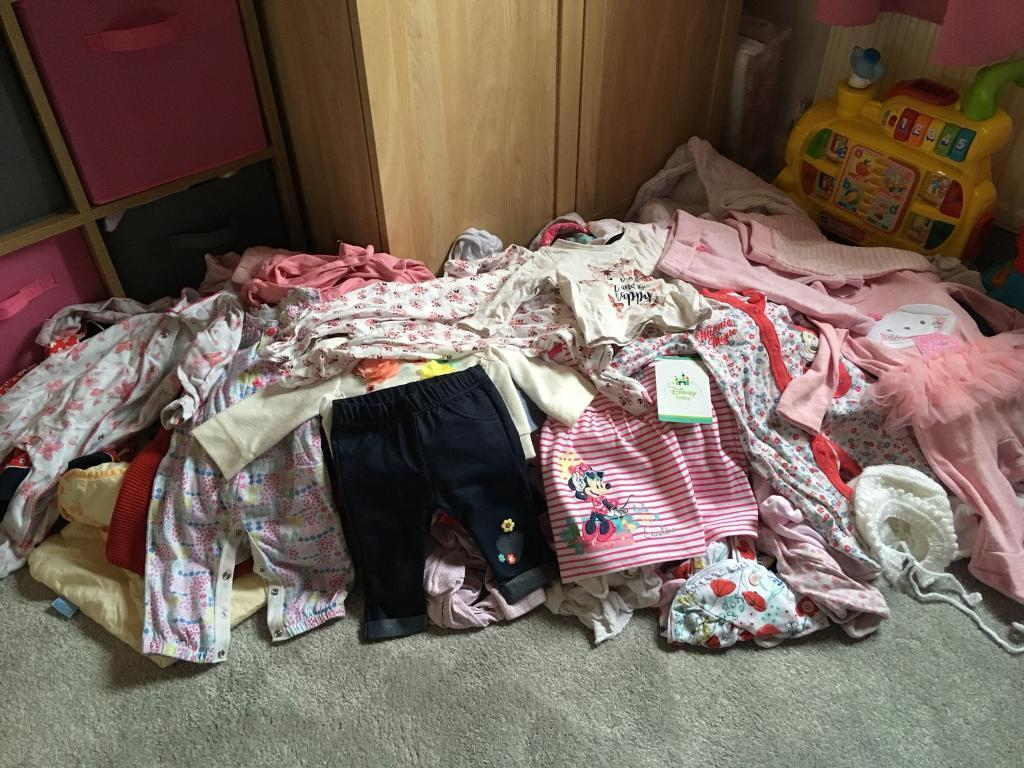 Massive Bundle of Girls 0-3 Clothes