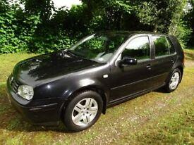 2002 (52) VW Golf 1.9 GT TDI 130 Metallic black