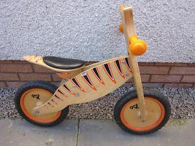 TP 'Tiger' Wooden Balance Bike