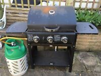 Large Gas BBQ with BP Gas Cylinder