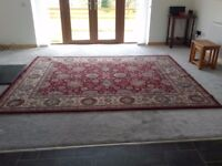 Large Rug (Pure Wool & Silk Mix)