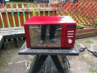 Microwave and kettle red Russell Hobbs