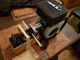 Wheel chair power unit