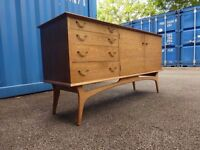 Retro Vintage AC Alfred Cox 1960's Sideboard ,Han Made,Delivery Available