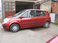 2004 Renault Scenic 1.5 dci, Diesel, 12 Month MOT p/x Clearance