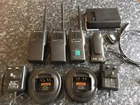 UHF Radios, VHF Radios, Walkie Talkies, Motorola Radios