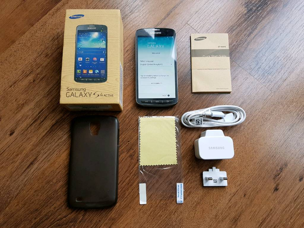 SAMSUNG GALAXY S4 ACTIVE (GT I9295in Ampthill, BedfordshireGumtree - SAMSUNG GALAXY S4 ACTIVE (GT I9295)Urban Grey£95.00 onoUnlocked to all networks.Excellent condition c/w charger & usb cable, Zero Lemon 3000mA battery, rubber case and screen protector.Selling due to upgrade