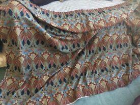 London Liberty fabric curtains