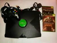 Original Microsoft Xbox Game Console Bundle Lot